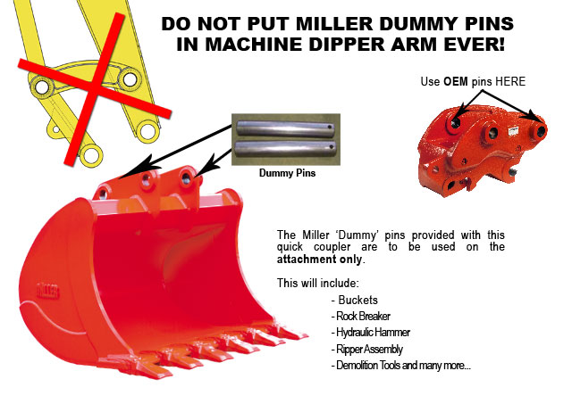 Coupler Misuse Bad Practice Miller India Couplers And Attachments