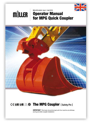 Operator Manual for Miller MPG Quick Coupler